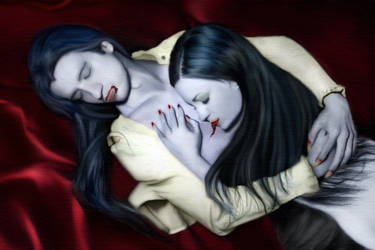 Deadly Embrace by The-Beauty-Decays