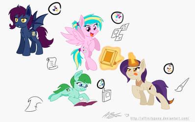 EQD Mascots (First 4)
