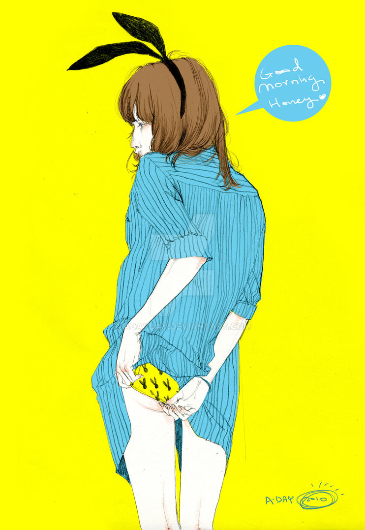 Good Morning Honey by adayday