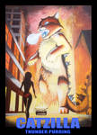 Catzilla in the City by xexer