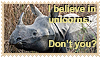 Stamp-I Believe In Unicorns by Jazzy-C-Oaks