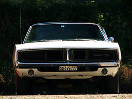 white muscle car dream by AmericanMuscle