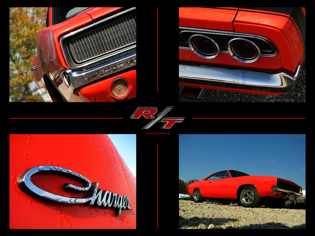 1968 Dodge Charger WALLPAPER by AmericanMuscle on DeviantArt