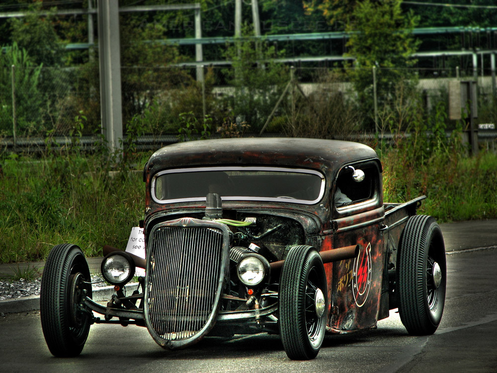 The rat rod by americanmuscle on deviantart for Garage ford nice