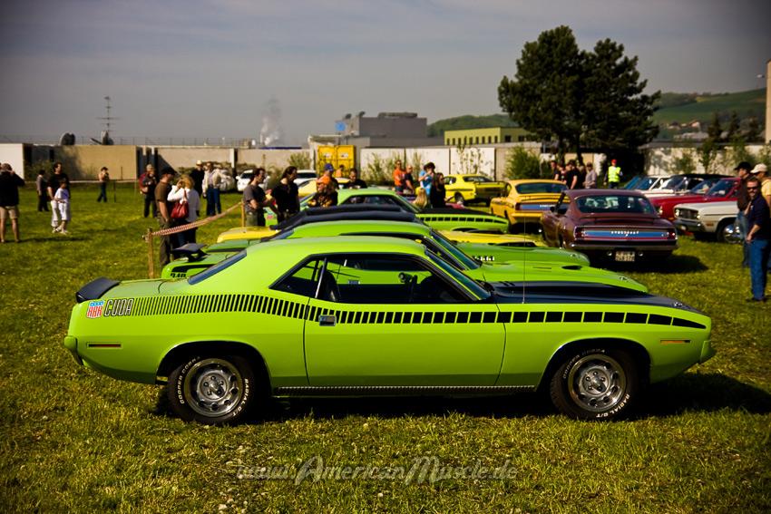 Green Mopar Muscle Cars by AmericanMuscle on DeviantArt