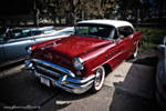 Red 55 Buick