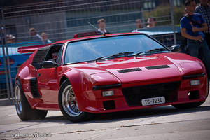 Red DeTomaso Pantera by AmericanMuscle