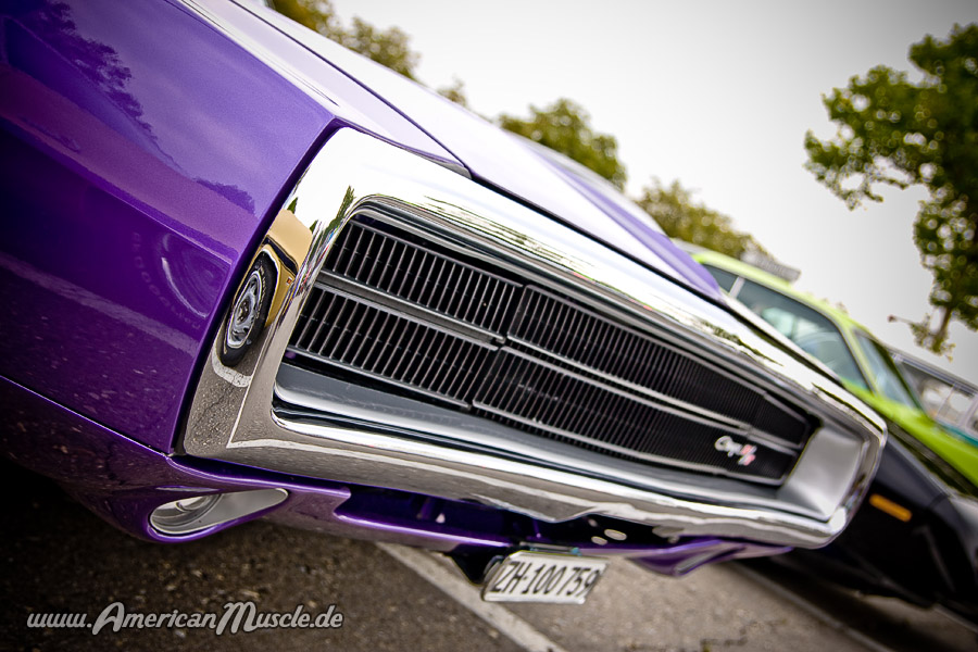 1969 DODGE CHARGER 69 R/T GRILL TRIM MOLDING
