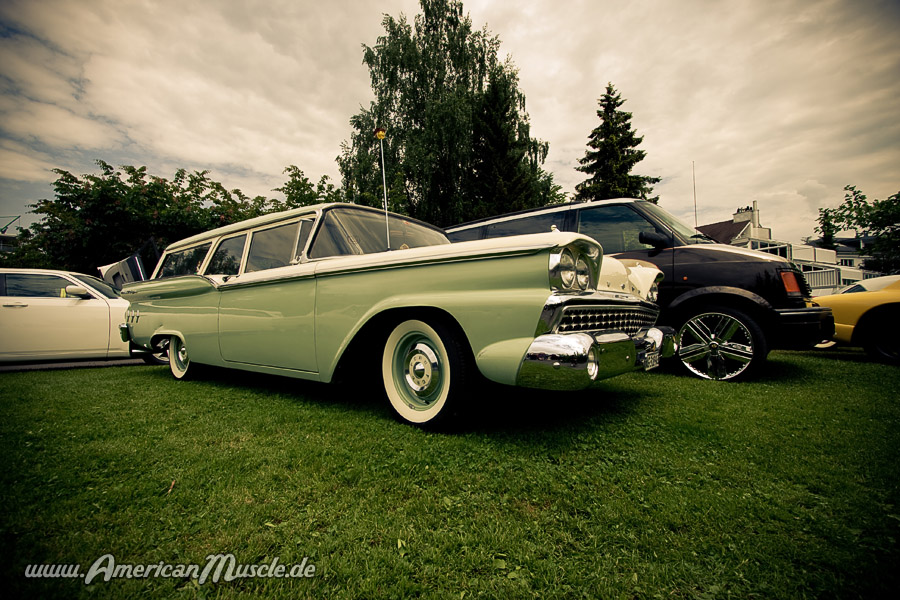 old ford station wagon by AmericanMuscle on DeviantArt