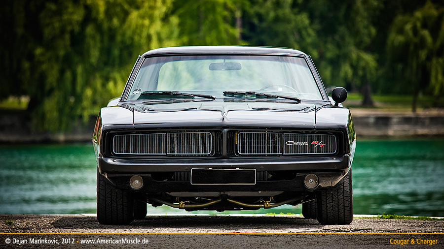 black 1969 dodge charger III by AmericanMuscle