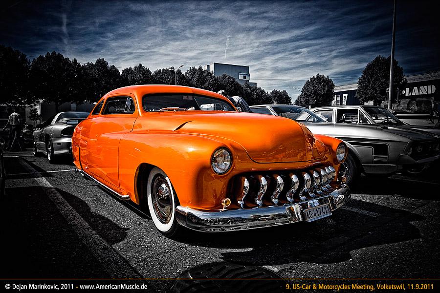 orange merc by AmericanMuscle