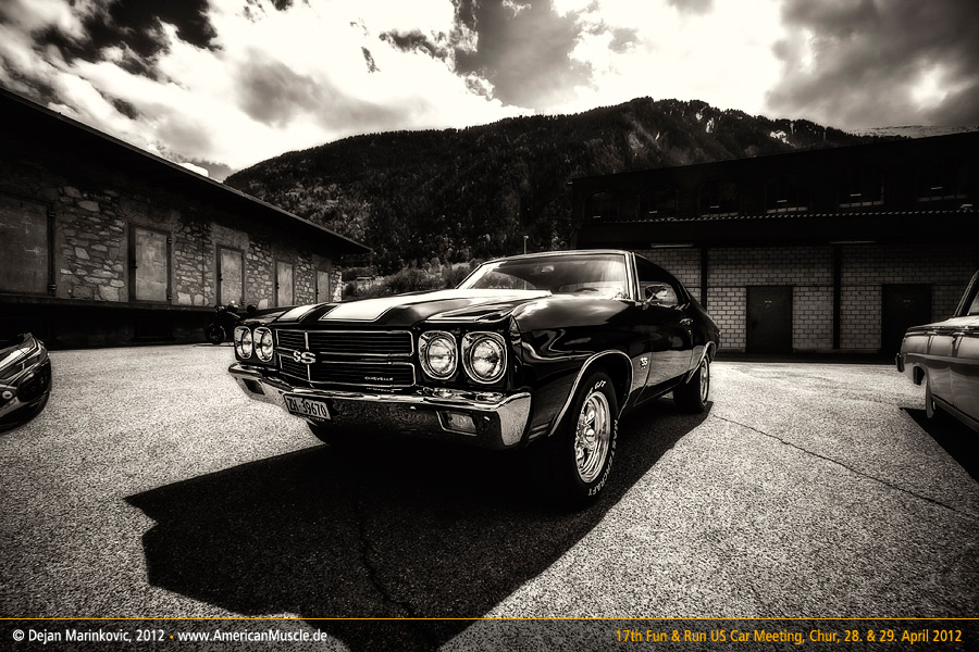 black chevelle by AmericanMuscle
