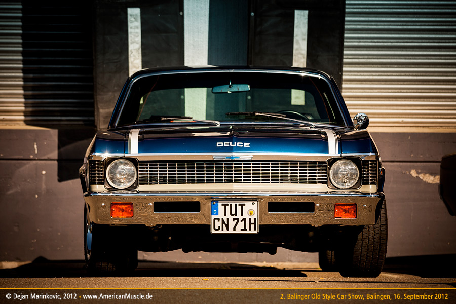 1971 Nova Front by AmericanMuscle