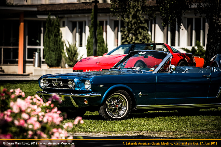 old pony and corvette by AmericanMuscle
