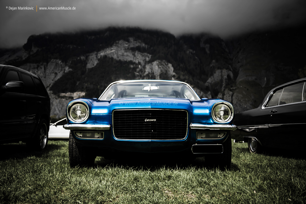 blue 2nd gen camaro by AmericanMuscle on DeviantArt