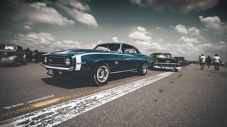 Camaro and Bel Air