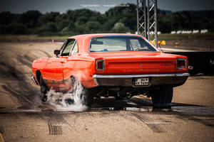 1969 Plymouth Road Runner Burnout by AmericanMuscle