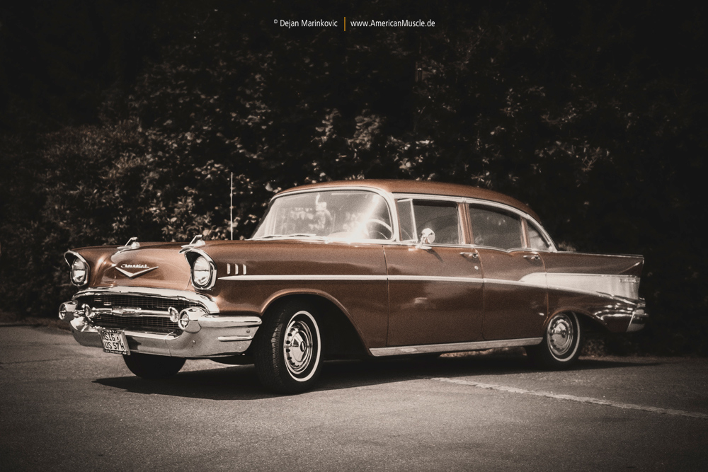 1957 Chevrolet Bel Air by AmericanMuscle