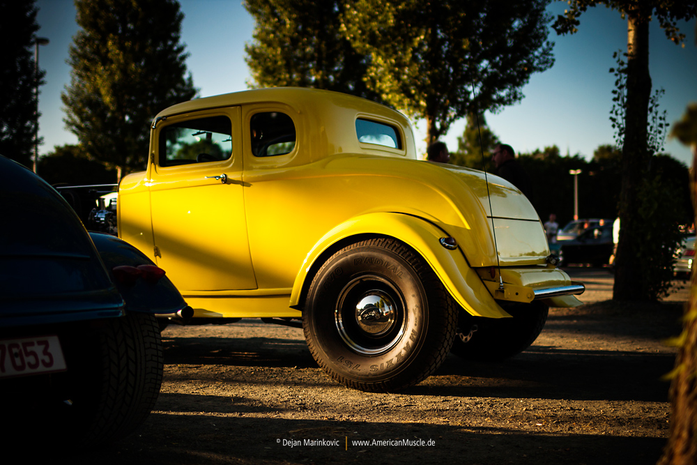 yellow 5-window-coupe by AmericanMuscle