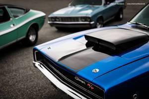 muscle cars parking only by AmericanMuscle