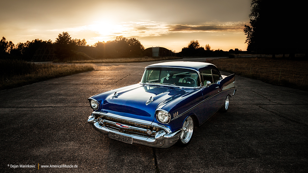 Blue 57 by AmericanMuscle
