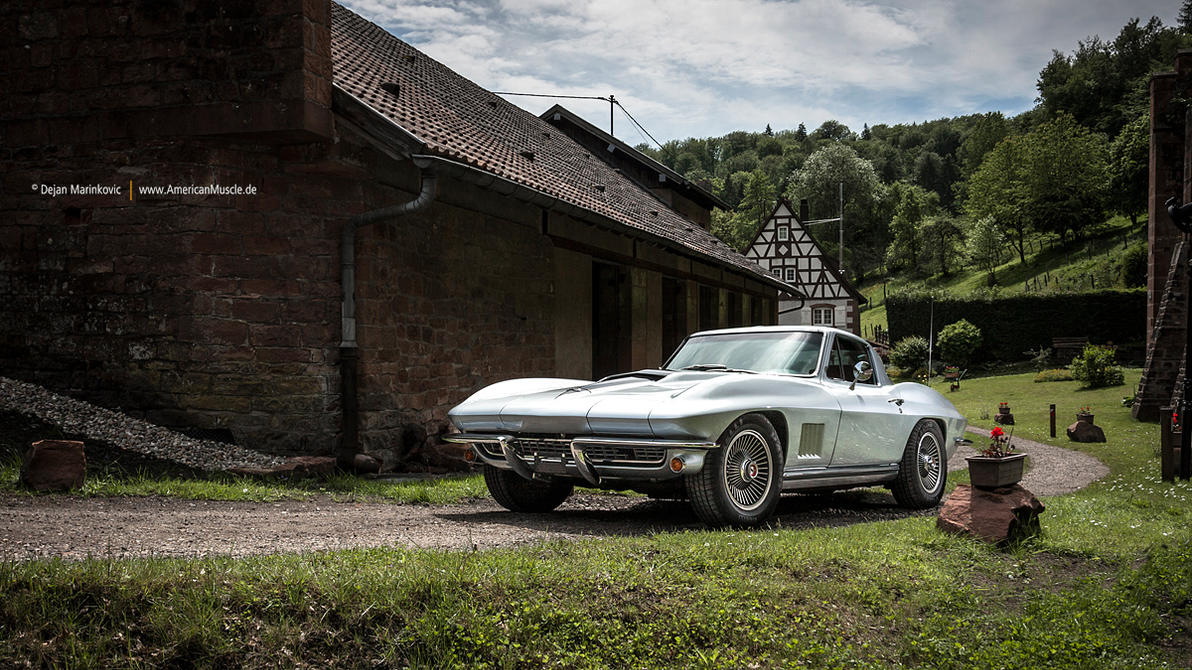 Corvette C2 Sting Ray by AmericanMuscle