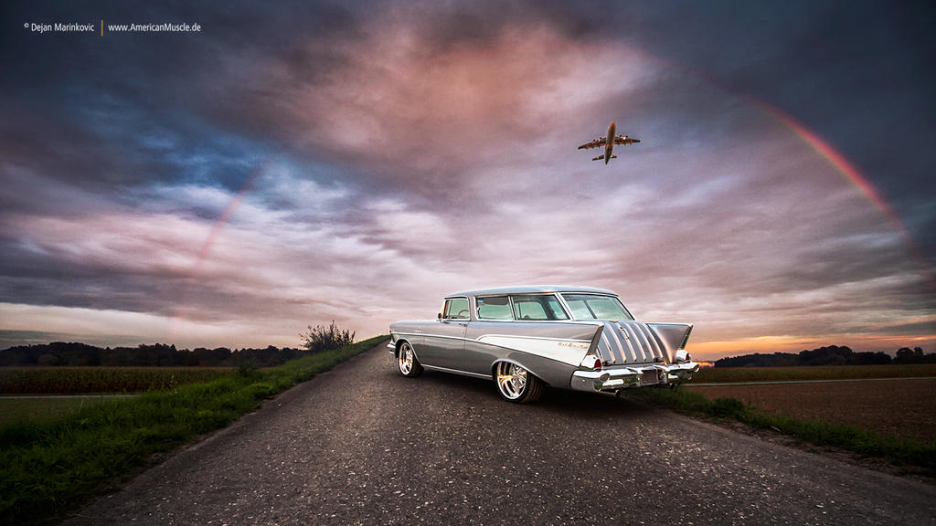 1957 Chevrolet Nomad by AmericanMuscle