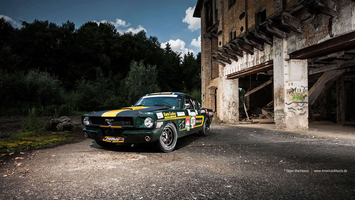 1965 Ford Mustang Fastback Race Car by AmericanMuscle