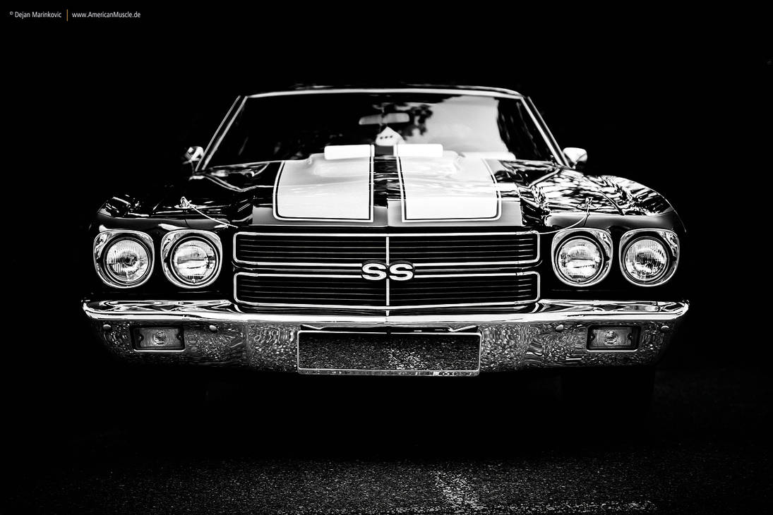 1970 Chevrolet Chevelle SS Front by AmericanMuscle