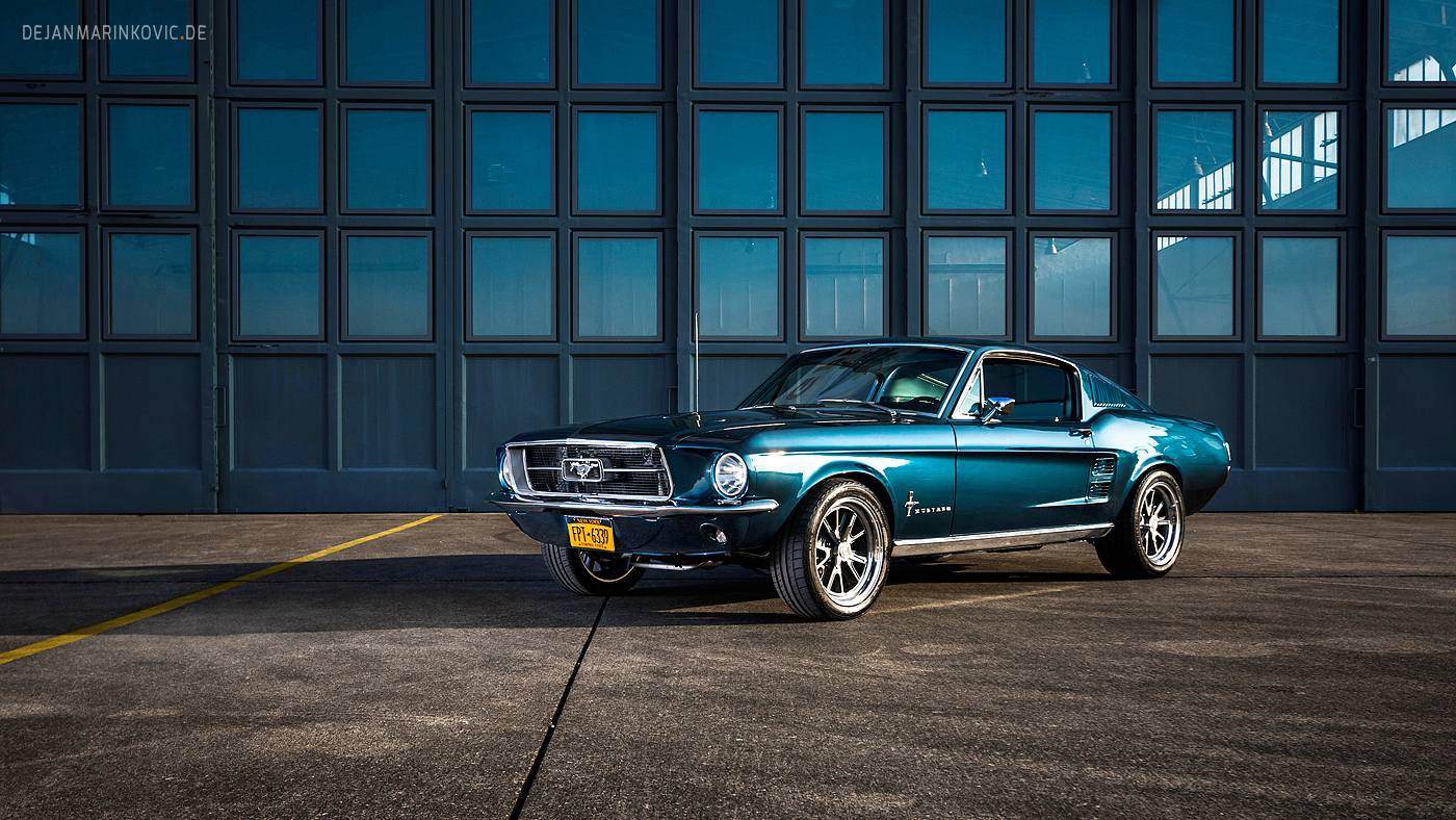 bawwomick 2772 161 blue 1967 ford mustang fastback by americanmuscle - 1967 Ford Mustang Fastback Wallpaper