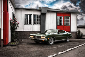 1971 Ford Torino GT by AmericanMuscle