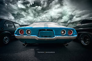 Blue Camaro by AmericanMuscle
