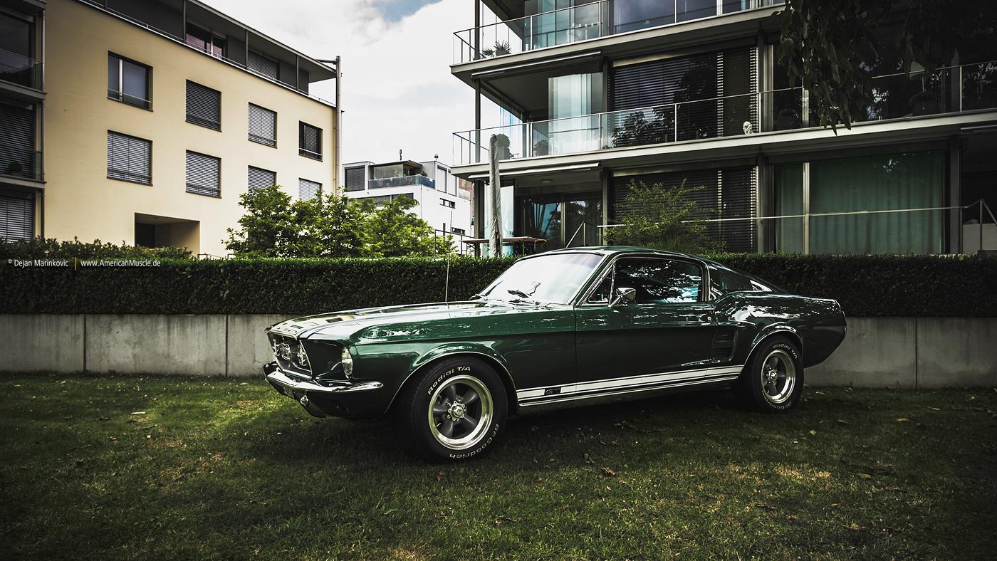 Green 67 Fastback