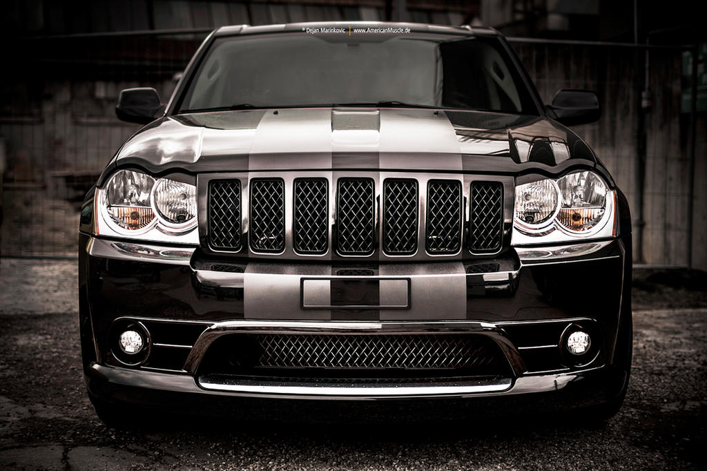 jeep grand cherokee srt8 front by americanmuscle on deviantart. Cars Review. Best American Auto & Cars Review