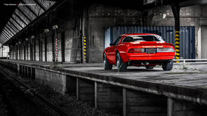 Red Trans Am by AmericanMuscle