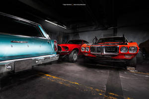 In the Garage by AmericanMuscle