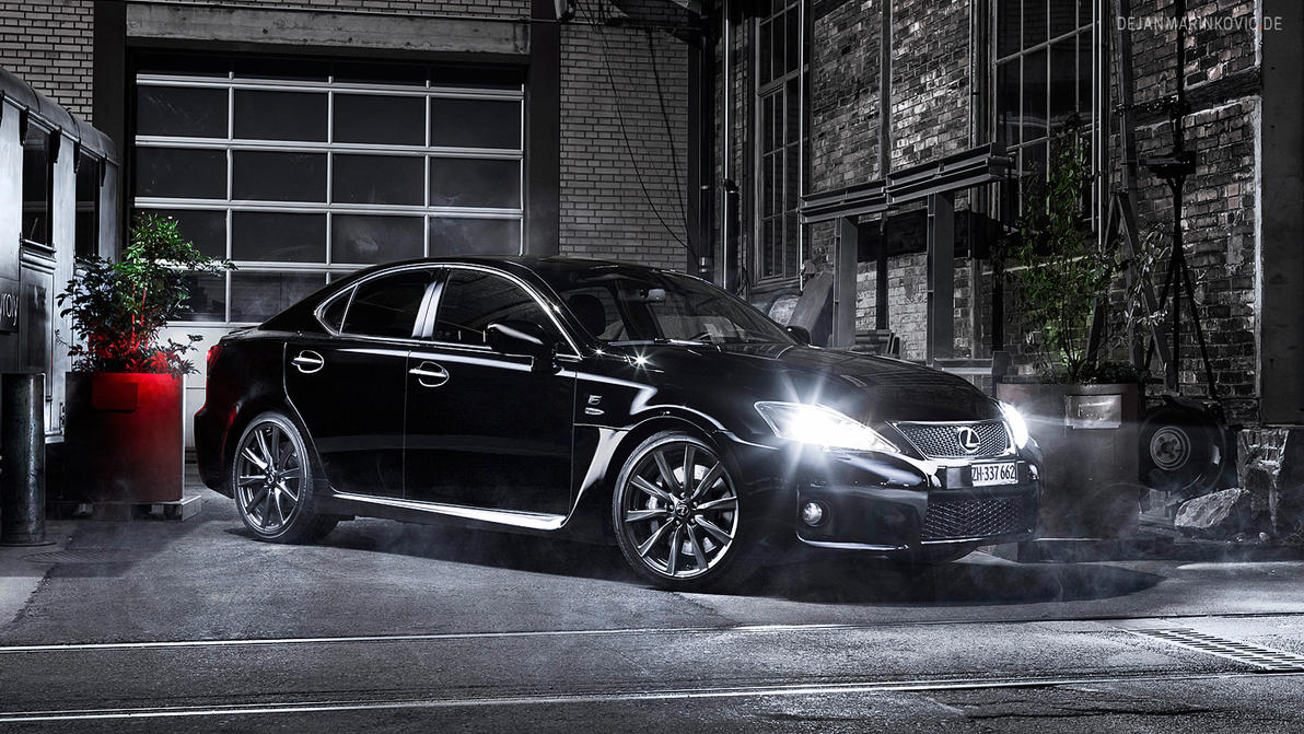 Black Lexus by AmericanMuscle