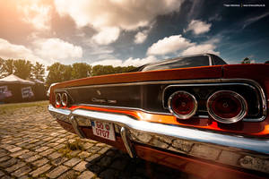 68 Charger Rear by AmericanMuscle