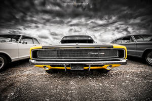 1968 Charger Front by AmericanMuscle
