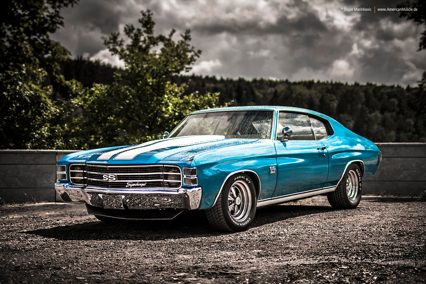 All Chevy 1971 chevrolet chevelle ss : 1971 Chevrolet Chevelle SS by AmericanMuscle on DeviantArt