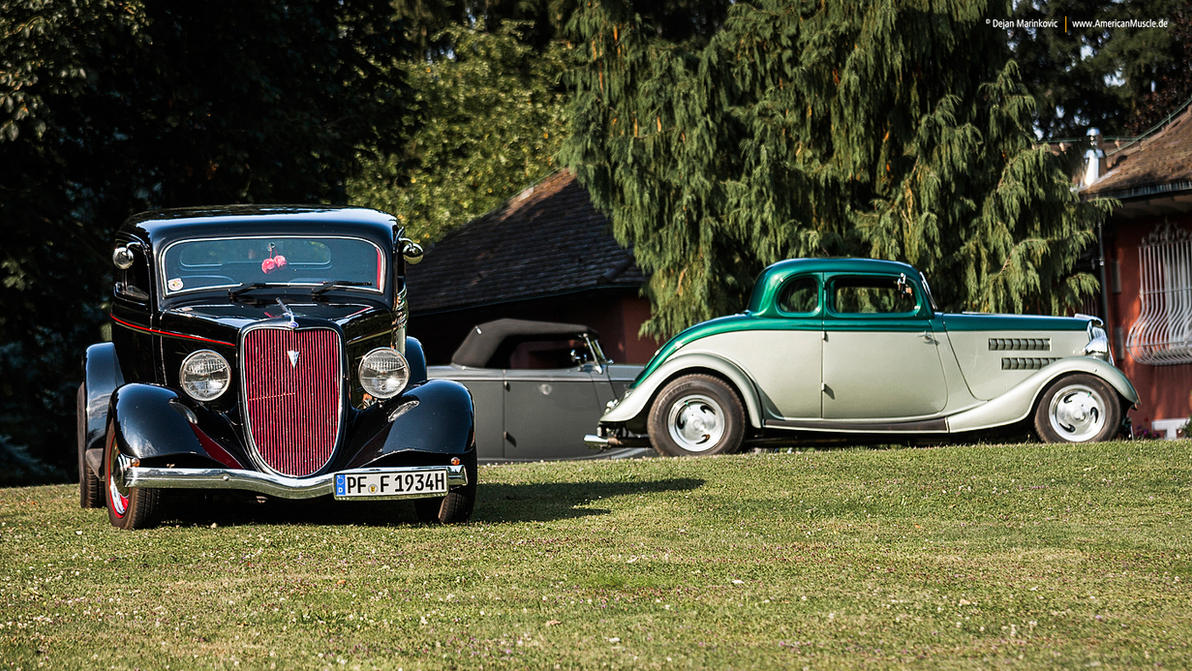 1934 Ford Hot Rods by AmericanMuscle