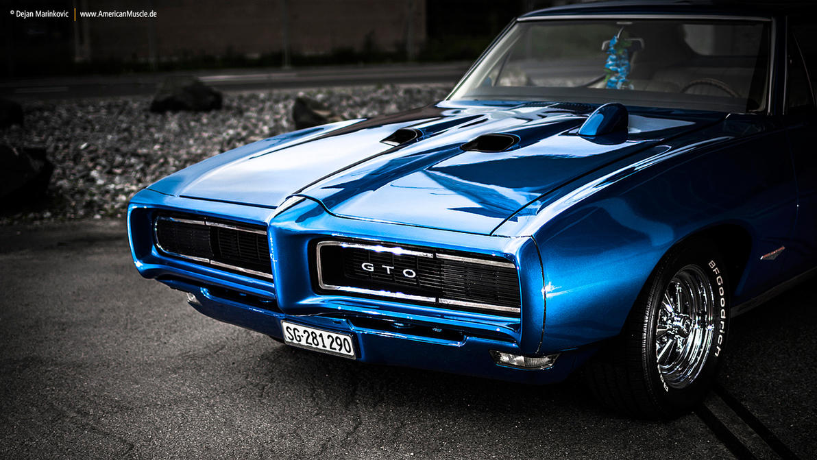 Blue 68 Gto By Americanmuscle On Deviantart