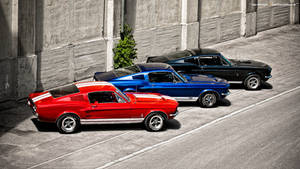 Three Fastbacks by AmericanMuscle