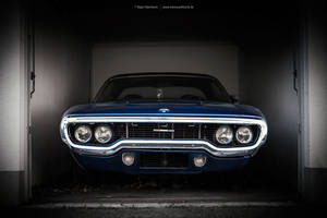 Blue Satellite by AmericanMuscle