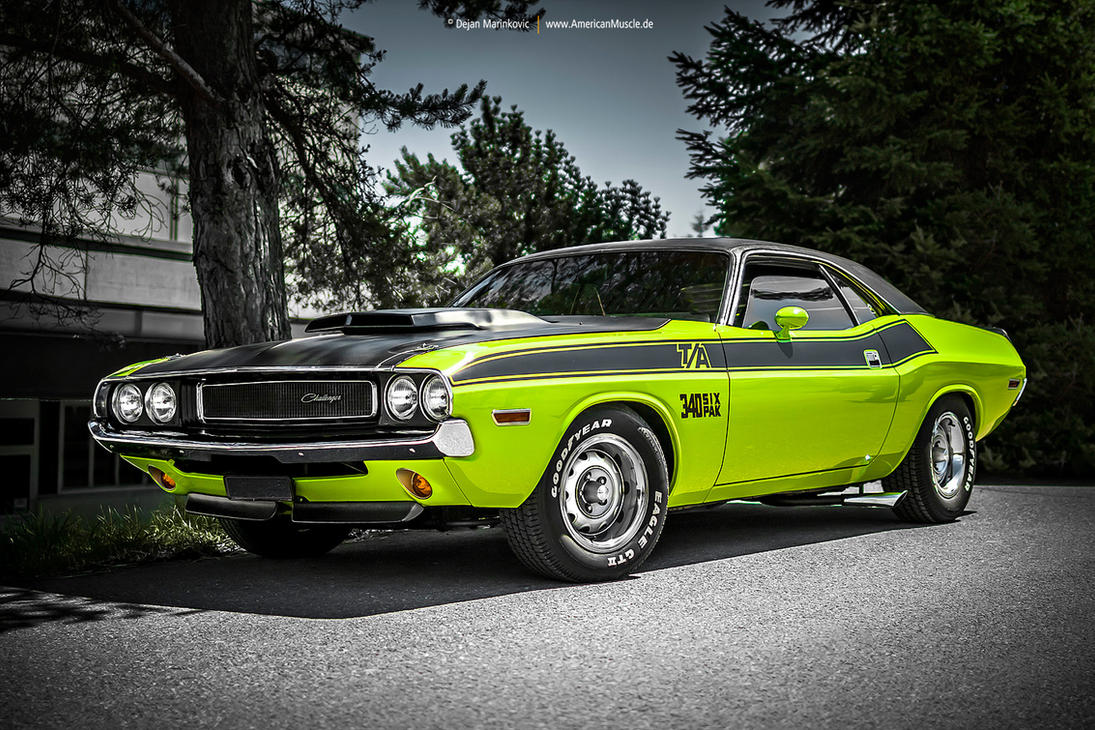 1970 challenger t a by americanmuscle on deviantart. Black Bedroom Furniture Sets. Home Design Ideas