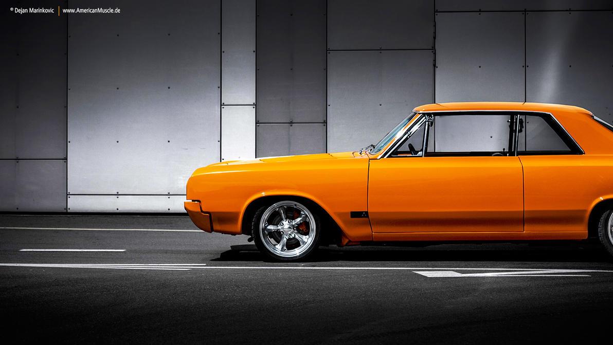 Orange 1965 Oldsmobile by AmericanMuscle