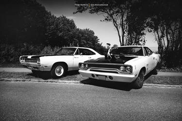 two Plymouth Muscles