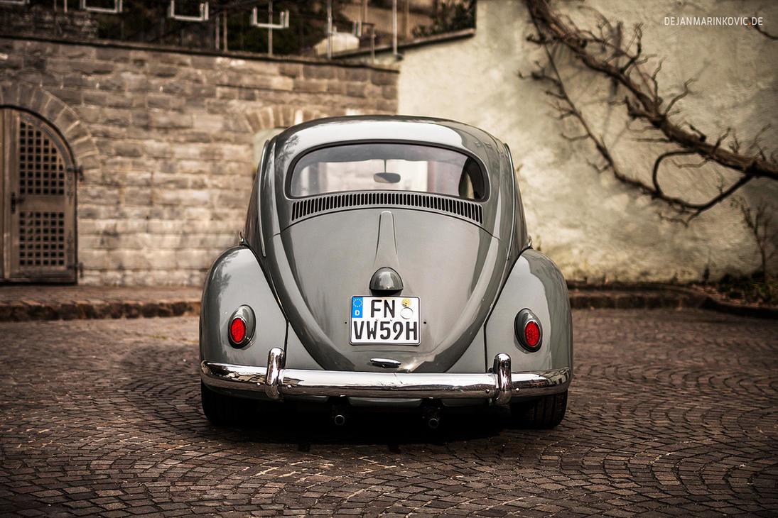 1959 VW Beetle Rear by AmericanMuscle