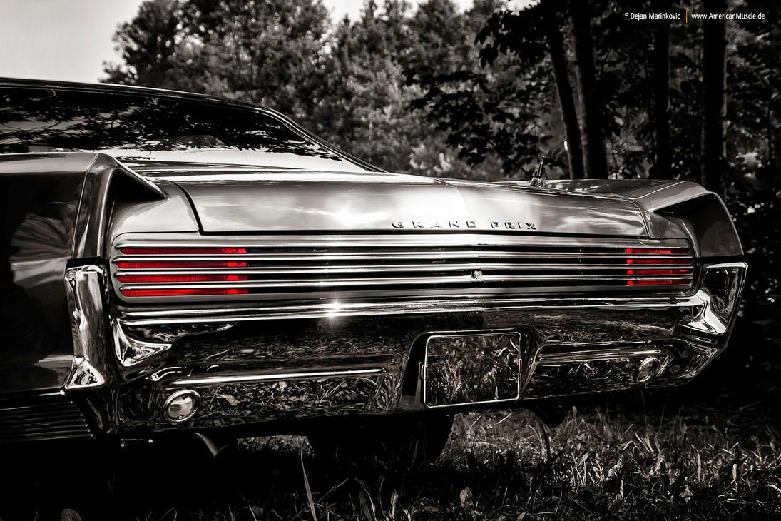 1966 Pontiac Grand Prix Rear by AmericanMuscle