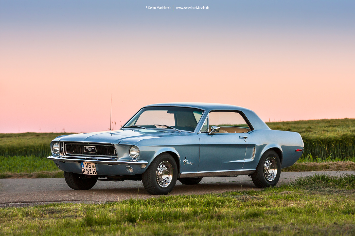 1968 Ford Mustang Coupe by AmericanMuscle on DeviantArt
